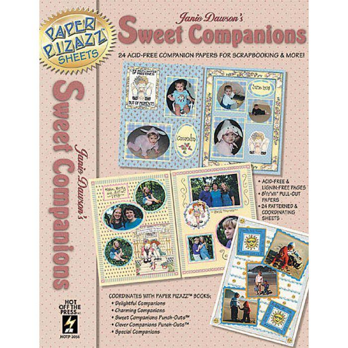 "Набор бумаги ""Sweet companions"" для скрапбукинга"