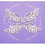 Чипборд Ажурные крылья, две пары