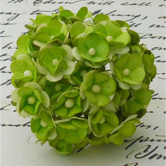 Цветы зеленого цвета для скрапбукинга