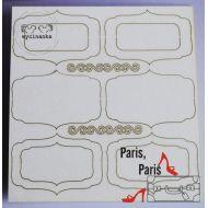Чип-борд Париж, Париж - Знаки и Рамки