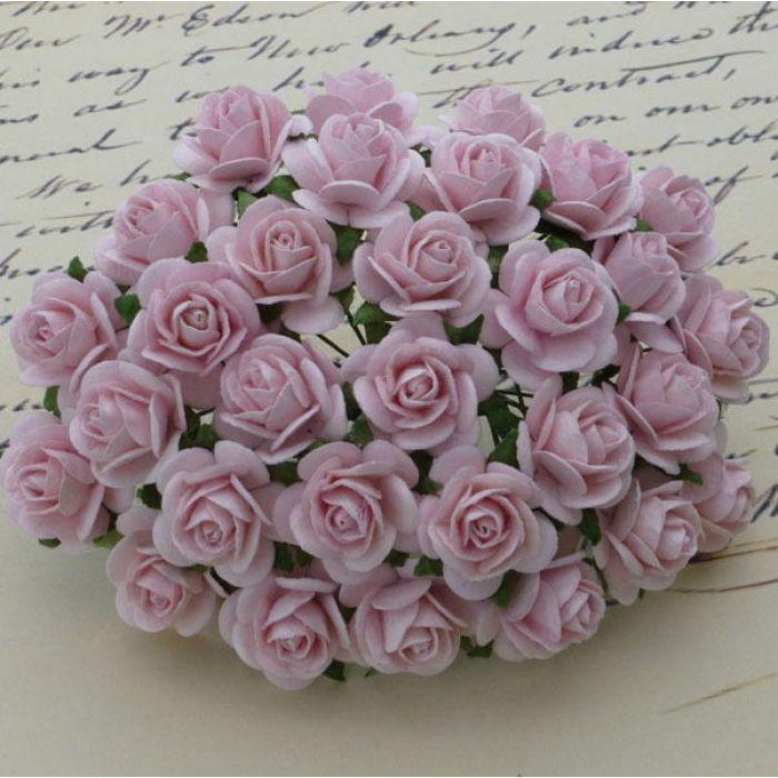 Розы бледно-розовые, 10 мм для скрапбукинга