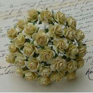 Розы кремовые, 10 мм