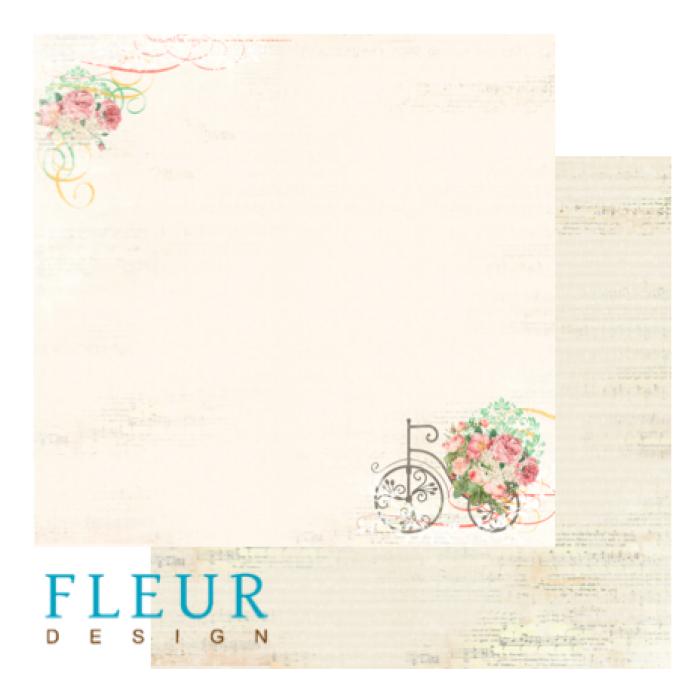 Бумага цветущий сад из коллекции старый парк для скрапбукинга
