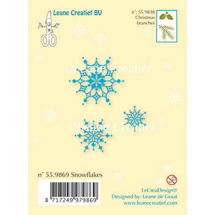 Набор штампов снежинки для скрапбукинга