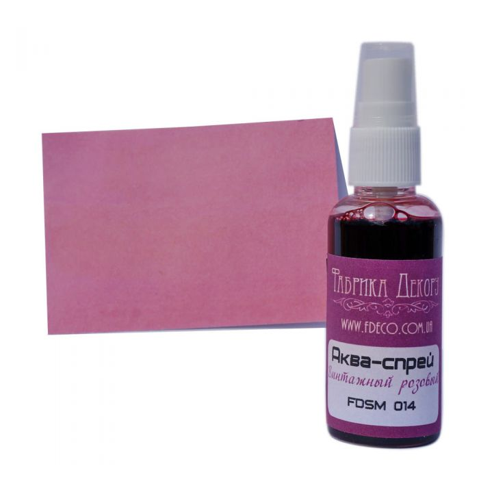 Аква-спрей винтажный розовый для скрапбукинга