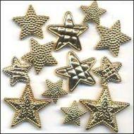 Набор пуговиц Gold Stars