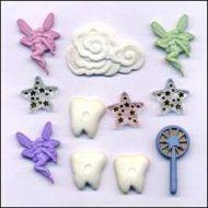 Набор пуговиц Зубная фея