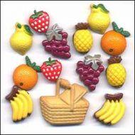 Набор пуговиц Fruit Basket