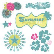 Вырубка из оверлея, коллекция Summer Soul