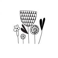 Штамп силиконовый Mixed Flowers, коллекция Be You