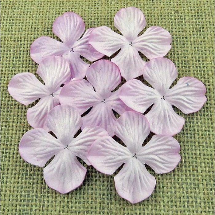 Гортензии нежно-розового цвета, 35 мм для скрапбукинга