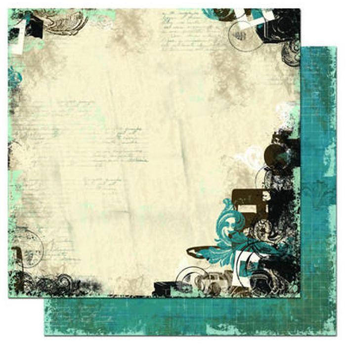 Бумага Shutter, коллекция Mama-Razzi для скрапбукинга