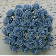 Розы голубого цвета, 10 мм