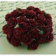 Розы алые, 10 мм