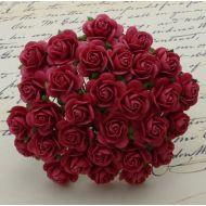 Розы коралловые красные, 10 мм