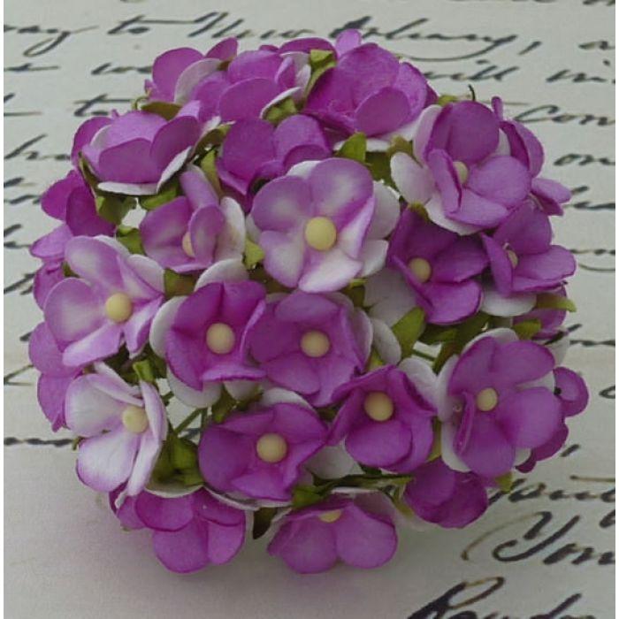 Цветы фиолетового оттенка для скрапбукинга