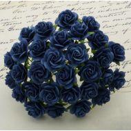 Розы темно-синие, 10 мм