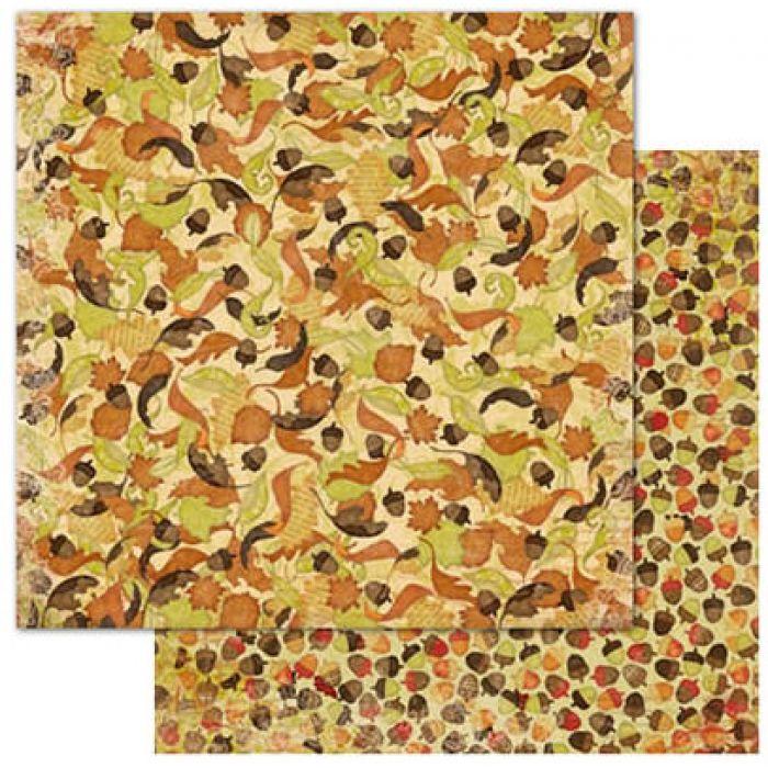 Бумага Autumn, коллекция Apple Cider для скрапбукинга