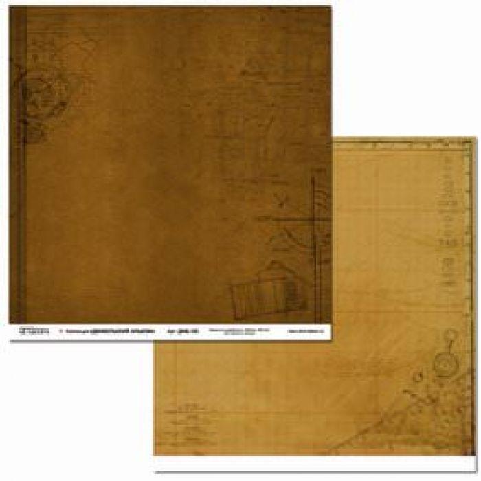 Бумага ДМБ-03, коллекция Дембельский альбом для скрапбукинга