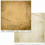 Бумага ДМБ-04, коллекция Дембельский альбом