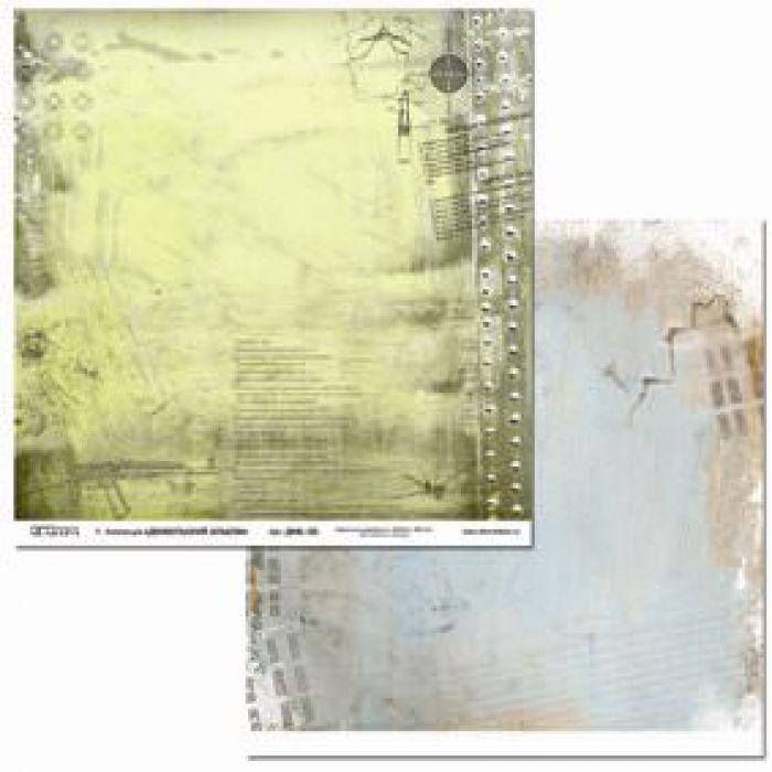 Бумага ДМБ-05, коллекция Дембельский альбом для скрапбукинга