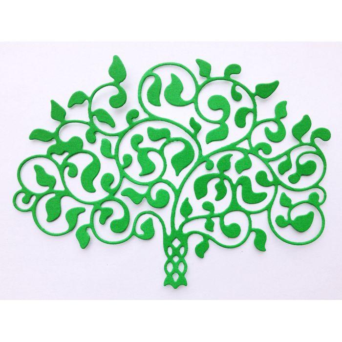 Форма для вырубки Семейное древо для скрапбукинга