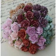 Розы шебби микс, 10 мм