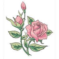 3D-штамп роза