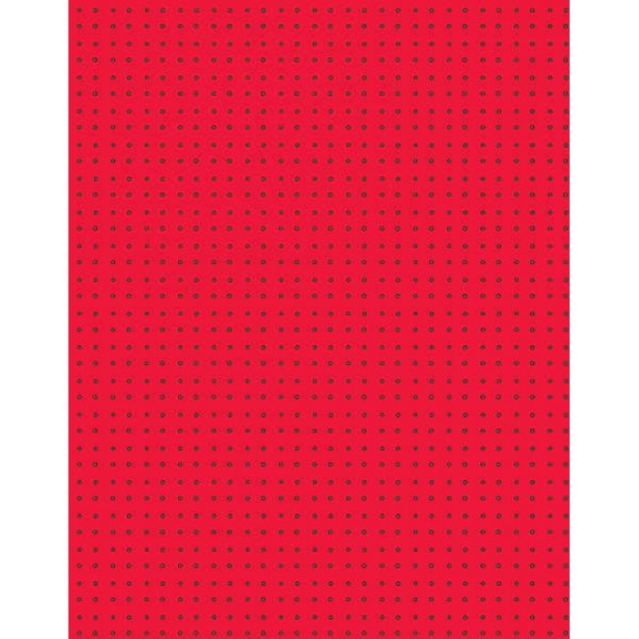"""Бумага """"Red with Hollow Dots"""" для скрапбукинга"""
