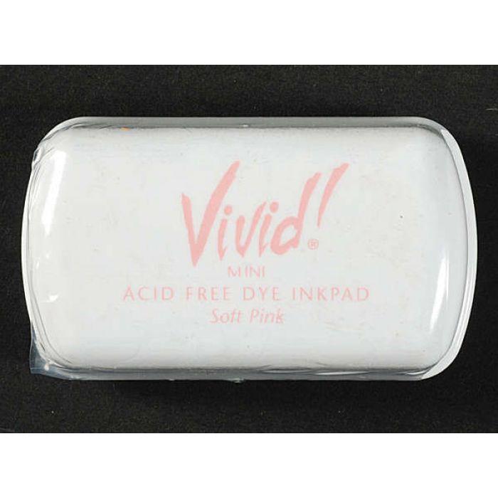 Чернильная подушка Vivid, цвет Soft Pink для скрапбукинга