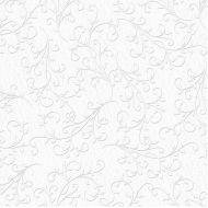Картон с тиснением Франция, цвет белый, А4