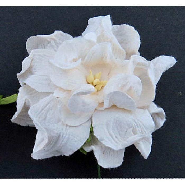 Цветы гардении белого цвета, 60 мм для скрапбукинга