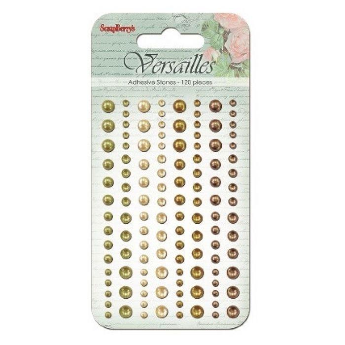 Клеевые полужемчужинки Версаль 1 для скрапбукинга