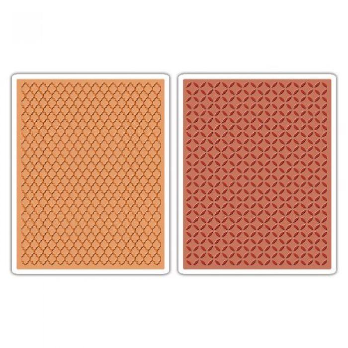 Форма для эмбоссирования Внутренний Двор и Трельяж Texture Fades 659449 для скрапбукинга