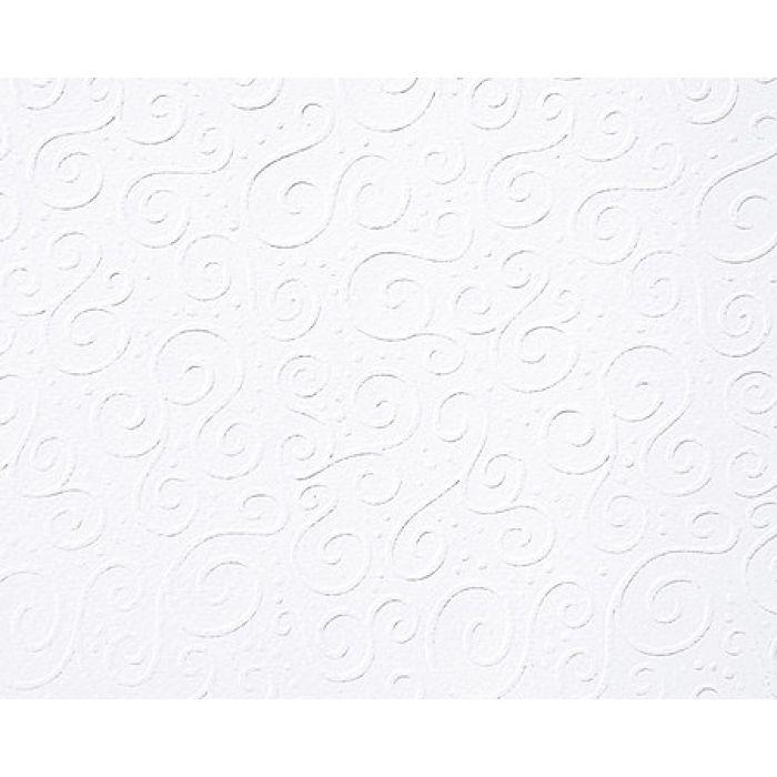 """Картон с тиснением """"Милан"""", цвет белый, А4 для скрапбукинга"""