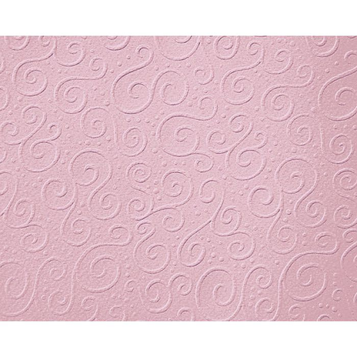 """Картон с тиснением """"Милан"""", цвет розовый, А4 для скрапбукинга"""