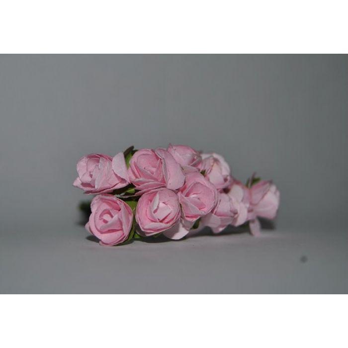 Набор розочек бледно-розовые для скрапбукинга