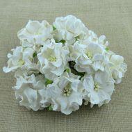 Цветы гардении белого цвета, 35 мм