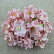 Цветы гардении бледно-розового цвета, 60 мм