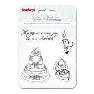 Набор штампов Свадьба, коллекция Свадебная