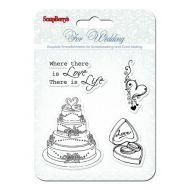 Набор штампов Свадьба2, коллекция Свадебная