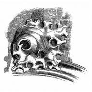 Штамп полимерный Stonework fragment 1
