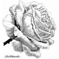 Штамп полимерный Single rose