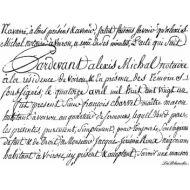 Штамп полимерный Script Large