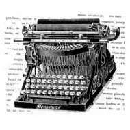 Штамп полимерный Typewriter