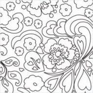 Штамп силиконовый Flower
