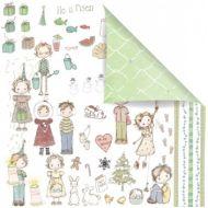 Бумага Celebrate, коллекция Jack and Jill