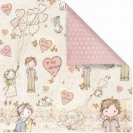 Бумага Sweet Valentine, коллекция Jack and Jill