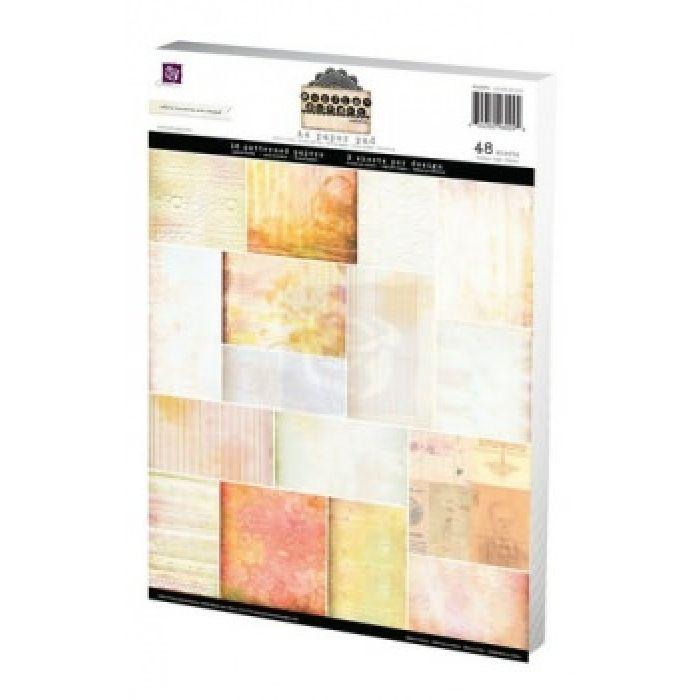 "Набор бумаги ""SUNRISE SUNSET"", А4 для скрапбукинга"