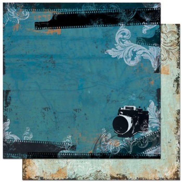Бумага, коллекция Mama-Razzi для скрапбукинга